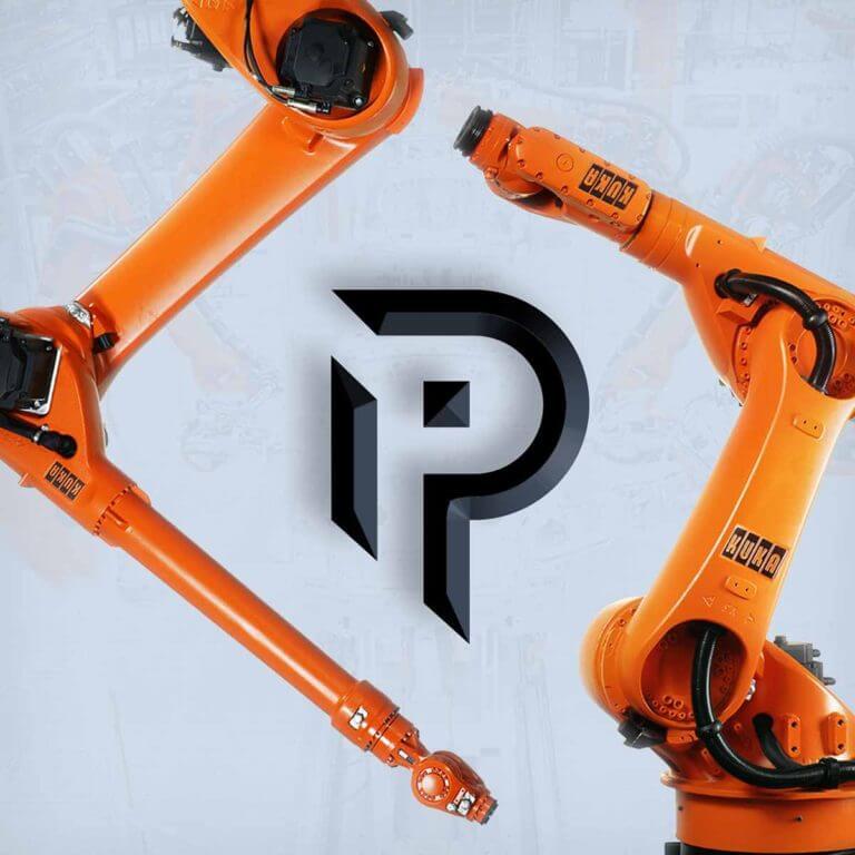 Разработка бренда для компании Parametric Industry: фирменный стиль и сайт под ключ