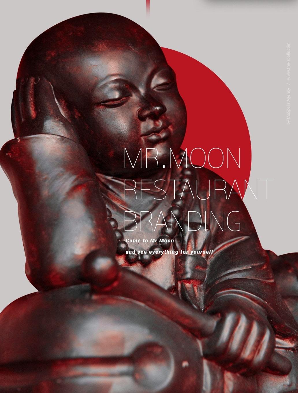 Japanese restaurant branding by theSpells